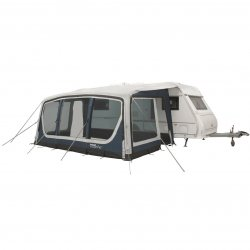 Outwell Tide 500SA Tent with air ducts and a depth of 3 meters.