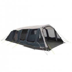 7-seater family tent Outwell Lakeville 7SA with three bedrooms and two family rooms.