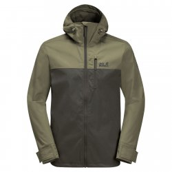 Jack Wolfskin Desert Wind Shell jacket for hiking and camping.
