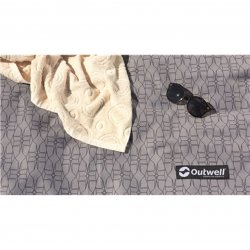 Soft woven tent mat for the Outwell Nevada 4P family tent