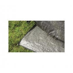 The floor cover keeps the tent's floorcloth clean and dry and it reduces the wear on it.