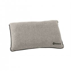 Pillow in memory foam suitable for camping and outdoor living.