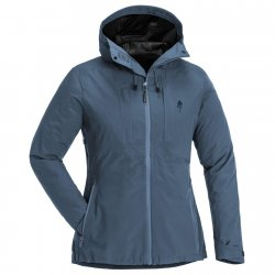 Pinewood Abisko / Telluz 3L outdoor jacket for women. A jacket for hiking, hunting, fishing and camping.