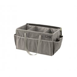 Practical storage for kitchen crockery and other accessories you want to include on the camping trip.