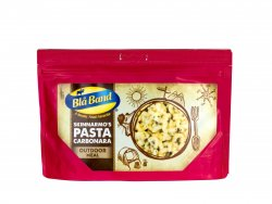 Blå Band Dried Pasta Carbonara for hiking and outdoor activities.