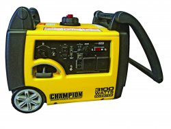 Champion 3100 W sharply and stable power to suit both demanding tools and sensitive electronics.