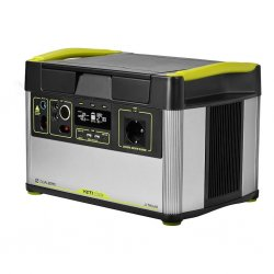 Goal Zero Yeti 1500X battery-powered generator with 230V / 220V socket