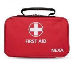 First aid bag large size, perfect for the car, boat or summer cottage.