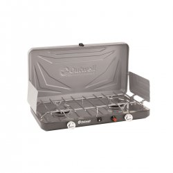 Outwell Annatto Gas stove with extra width and 2 x 3500W burner.