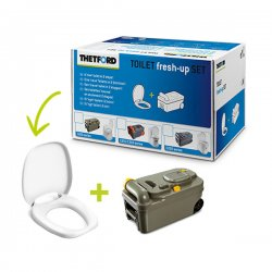 Thetford Toilet Fresh-Up Set C200 is a renovation kit for your caravan or motorhome toilet.