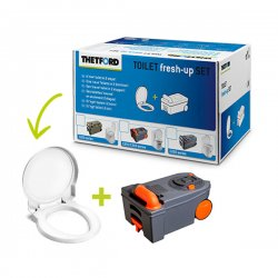 Thetford Toilet Fresh-Up Set C250/C260 is a renovation kit for your caravan or motorhome toilet.