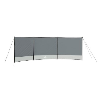 Light windscreen for camping, the beach, picnics and outdoor life.