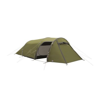 Robens Voyager Versa 3, a durable 3-person tent with an extra large apse for hiking and outdoor life.