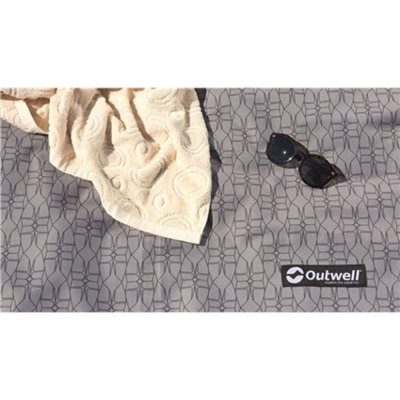Soft woven tent mat for the Outwell Bayland 6P family tent