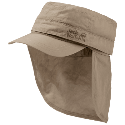 Jack Wolfskin Lakeside Mosquito Cap Kids size M - protects against sun, mosquitoes and wind