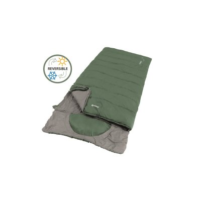Outwell Contour Lux XL is an extra large sleeping bag that is both wider and longer.