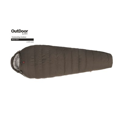 Winter sleeping bag that can handle really cold nights. The down sleeping bag also works in late autumn and early spring.
