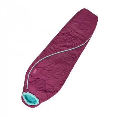 Very warm sleeping bag with an innovative zipper that gives a really good ergonomics when getting in and out of the sleeping bag