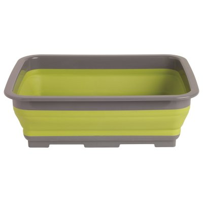 Folding sink for camping and outdoor activities.
