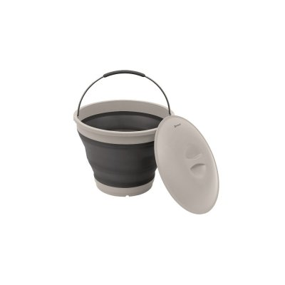 Collapsible bucket from Outwell, easy to carry and ideal for camping.