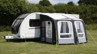 Kampa Dometic Ace Air Pro Awning with air tubes.