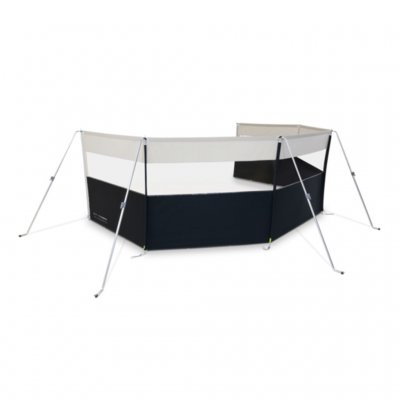 Kampa Dometic Pro Windbreak 5 wind screen for caravans and mobile homes with windows.