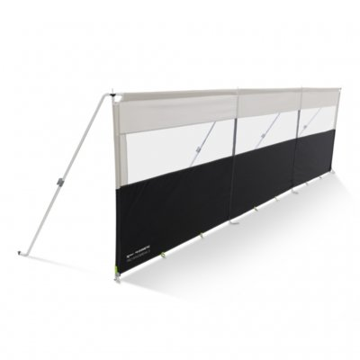 Kampa Dometic Pro Windbreak 3 wind screen for caravans and mobile homes with windows.