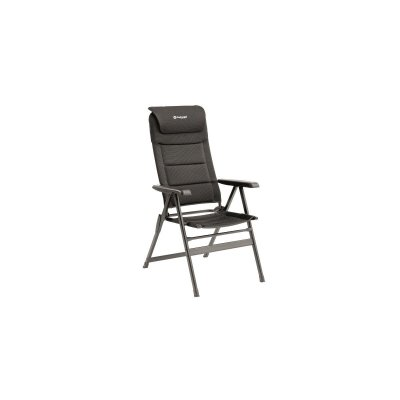 Outwell Teton, a camping chair with high backrest, good padding and small pack size
