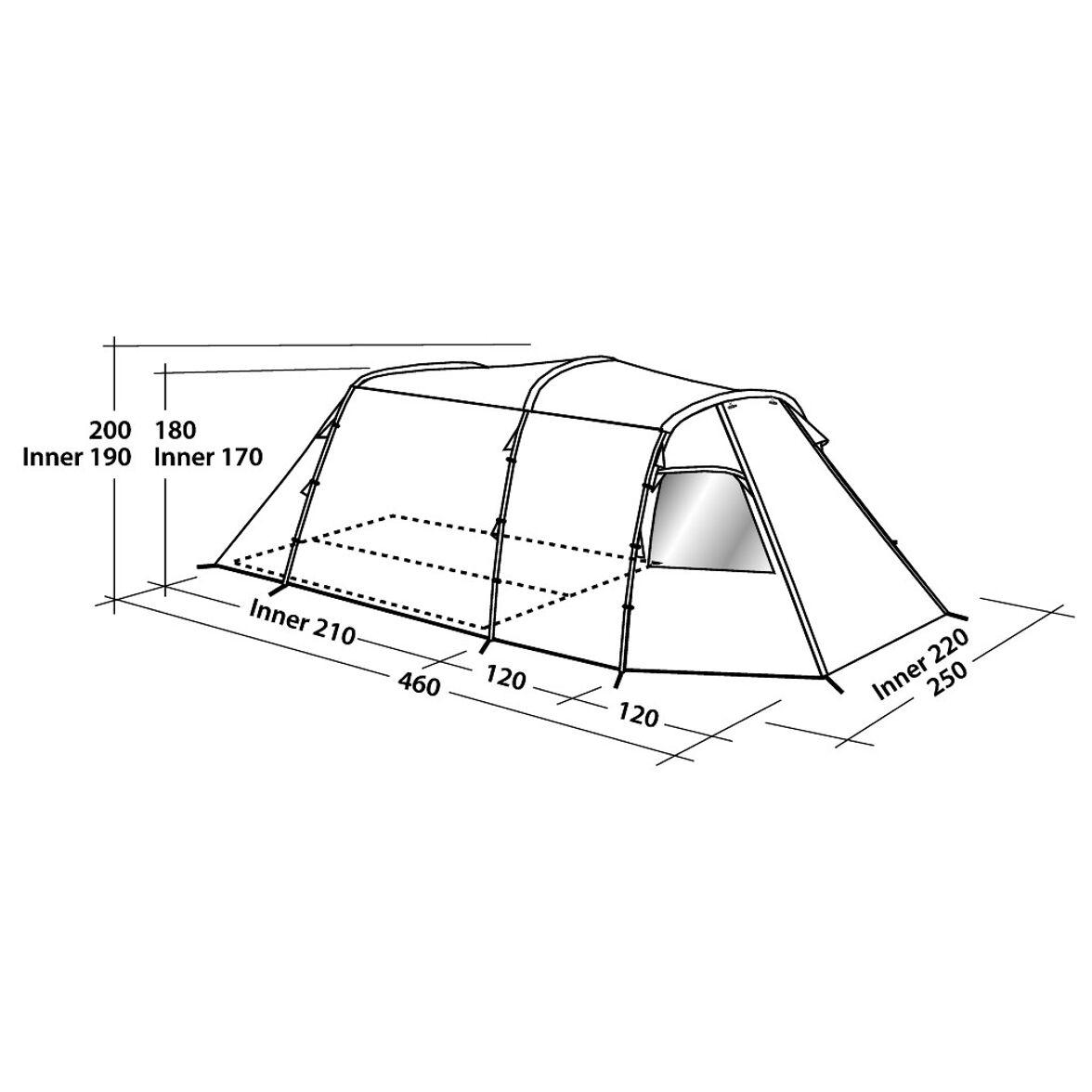 Easy Camp Huntsville 400 Familjetält | GetCamping.se