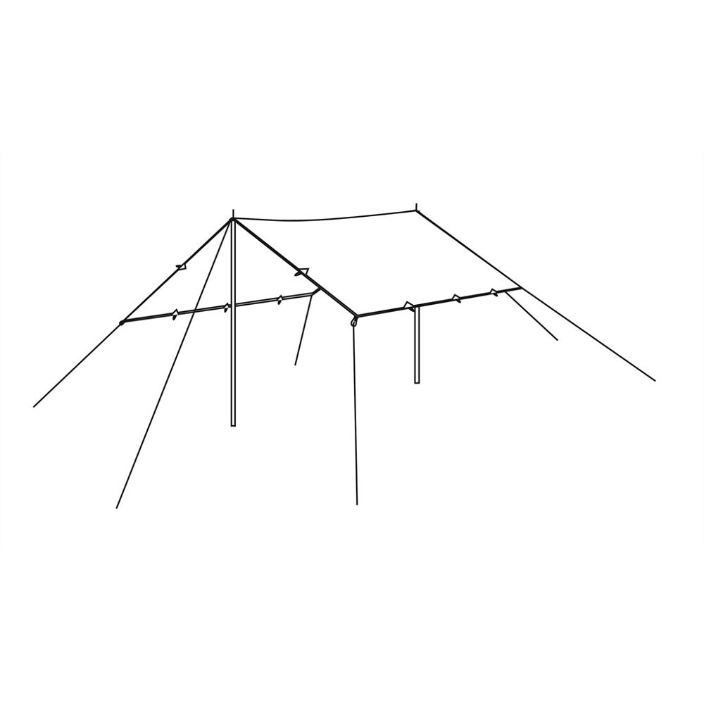 Robens Tarp 4 x 4 m Polycotton | GetCamping.se